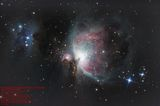 Orion & Running Man Nebulae (reprocessed) ; Comments:6