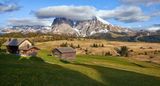 Пролет в Alpe di Siusi, Доломити ; comments:28
