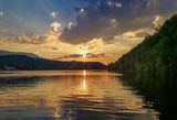 Панчаревско езеро привечер ; No comments