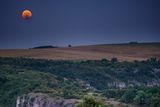 Лунен изгрев при частичното затъмнение на 07.08.2017г. ; comments:10