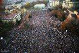 Митинг на СДС-1990-та година ; Comments:24