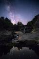 Христовският водопад през нощта ; comments:4