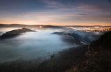 Велико Търново огряно от първите слънчеви лъчи ; comments:10