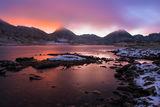Снежна лятна сутрин на Тевно езеро ; comments:11