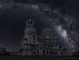 Експеримент -  св .Алксандър Невски по тъмно, може би никога няма да видим така София без електричество.... ; comments:4