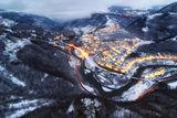 Зимна вечер над село Гара Бов 2 ; Comments:6