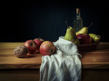 Натюрморт с орех и круши / Still Life With Walnut And Pears ; comments:12