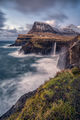 Mulafossur Waterfall, Faroe island ; comments:21