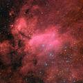 """Емисионната мъглявина IC 4628, наричана още """"Мъглявината Скарида"""" (Prawn Nebula) ; comments:13"""