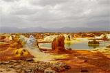 Данакилската депресия   Езерото Аселе     минус 100м н.в. ; comments:27