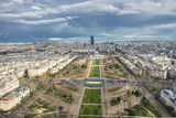 Изглед на Париж от втория етаж на Айфеловата кула. ; comments:4