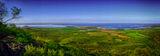 Поглед към Черноморец и Созопол от Бакърлъка ; comments:2