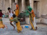 """Празникът """"Холи"""" в храма Рамгопалджи - Индия ; comments:5"""