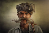 Old Rajasthani man ; comments:56