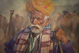 Old Rajasthani man 1 ; comments:23