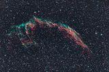 Eastern Veil Nebula (NGC 6992) / Източната част на мъглявината Воал ; comments:11