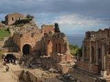 Древният гръцки театър в Таормина, Сицилия ; comments:5