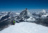 Алпи - поглед от връх Брайтхорн към Матерхорн ; Comments:8