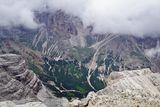 Поглед от връх Тофана ди Мецо -3244м. , Доломити , Италия. ; comments:12