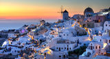 Sunset over Oia, Santorini ; comments:26