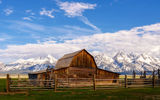 Moulton barn, Grand Teton ; comments:2
