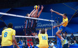FIVB Volleyball Men's World Championship Italy and Bulgaria 2018 - Netherlands : Brazil ; comments:3