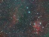 """Централната част на мъглявината """"Сърцето"""" (Heart Nebula - IC 1805) ; comments:2"""