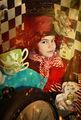 """личен проект """"Алиса"""", Вики в ролята на """" Шапкаря"""" ; No comments"""