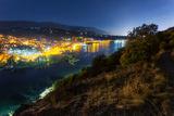 Панчарево и езерото след залез слънце ; Comments:2