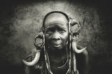 Woman from the Mursi tribe ; comments:30