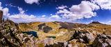Поглед от връх Малък Калин към яз. Калин ; comments:5