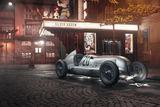 1934 Mercedes-Benz W25 Silver Arrow ; comments:14