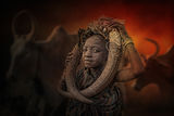 Boy from Mursi tribe ; comments:45