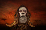 Woman from Mursi tribe ; comments:43