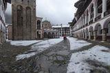 Декемврийски следобед в Рилския манастир ; comments:3