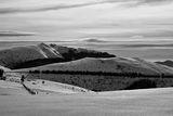 В преден план се вижда връх Юмрука, а в по заден се вижда връх Вежен ; Comments:23
