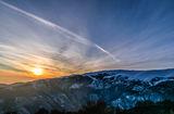 Зимен залез и връх Ботев ; comments:2