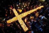 Огнен кръст на Св. Харалампий в Благоевград ; comments:9