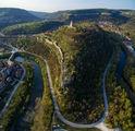 златен залез над Велико Търново ; comments:10