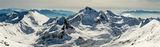 Панорама от връх Полежан, Пирин ; comments:8