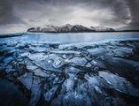 Леденото езеро на ледника Скафтафел ; comments:6