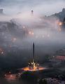 Велико Търново в прегръдката на сутрешната мъгла ; comments:9