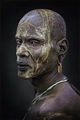 African portrait Mursi ; comments:24