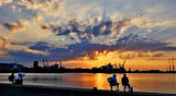 Риболов при залез ; Comments:8
