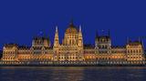 Парламентът на Будапеща в синия час ; comments:5