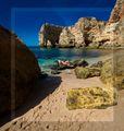 Marinha Beach,Portugal. ; comments:8