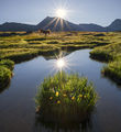 Един магически момент от изгрев над Тевно езеро ; comments:19