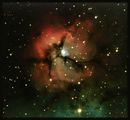 The Trifid nebula - Messier 20 ; comments:8