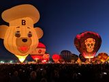 Albuquerque international Balloon fiesta, New Mexico ; comments:7