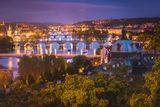Красотата на нощна Прага ; comments:4